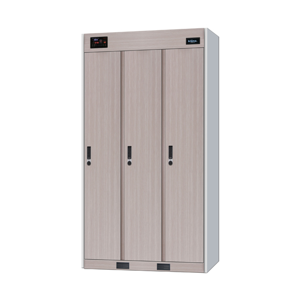 Klenz MS-260S Ozone Sanitiser Locker - 3 Door